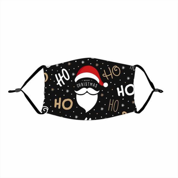 Mysterious Unique Santa Claus Santa Face Mask