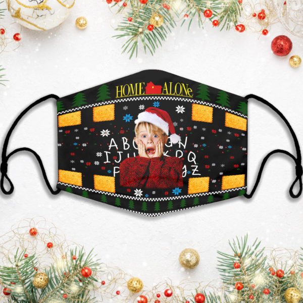 Home Alone Kevin Ugly Christmas Face Mask