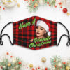 Have A Grande Christmas Plaid Face Mask