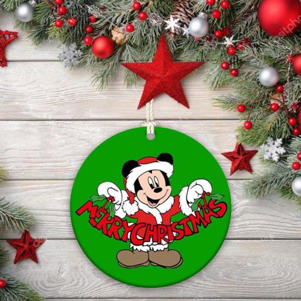 Disney Ornament Mickey Mouse Christmas Decorative Ornament