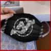New York Jets glitter diamond cloth face mask reusable
