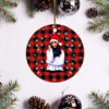 Indiana Massara Merry Christmas Circle Ornament