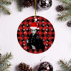 Prince Revolution Merry Christmas Circle Ornament