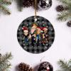 Metallica Merry Christmas Circle Ornament