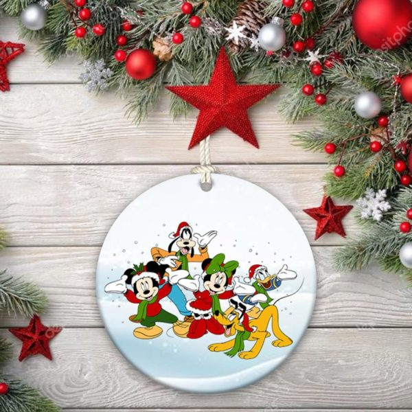 Disney Mickey Mouse Christmas Decorative Ornament