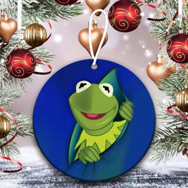 Kermit Muppet character Christmas Ornaments Funny Holiday Gift