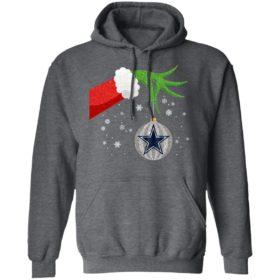 The Grinch Christmas Ornament Dallas Cowboys Shirt