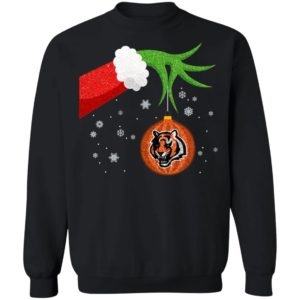 The Grinch Christmas Ornament Cincinnati Bengals Shirt