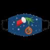 The Grinch Christmas Ornament Cincinnati Bengals Face Mask