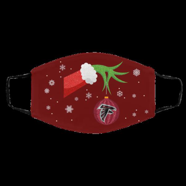 The Grinch Christmas Ornament Atlanta Falcons Face Mask