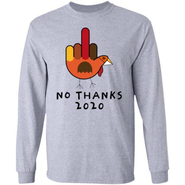 Thanksgiving Turkey No Thanks 2020 shirt