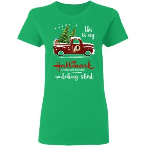 Washington Redskins This Is My Hallmark Christmas Movies Watching Shirt