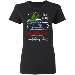 Tennessee Titans This Is My Hallmark Christmas Movies Watching Shirt