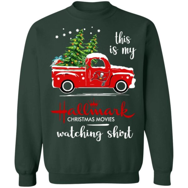 Tampa Bay Buccaneers This Is My Hallmark Christmas Movies Watching Shirt
