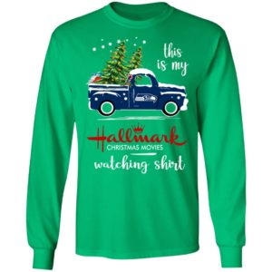 Seattle Seahawks This Is My Hallmark Christmas Movies Watching Shirt