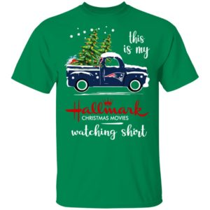 New England Patriots This Is My Hallmark Christmas Movies Watching Shirt