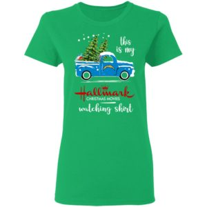 Los Angeles Chargers This Is My Hallmark Christmas Movies Watching Shirt