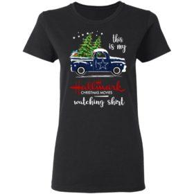 Dallas Cowboys This Is My Hallmark Christmas Movies Watching Shirt