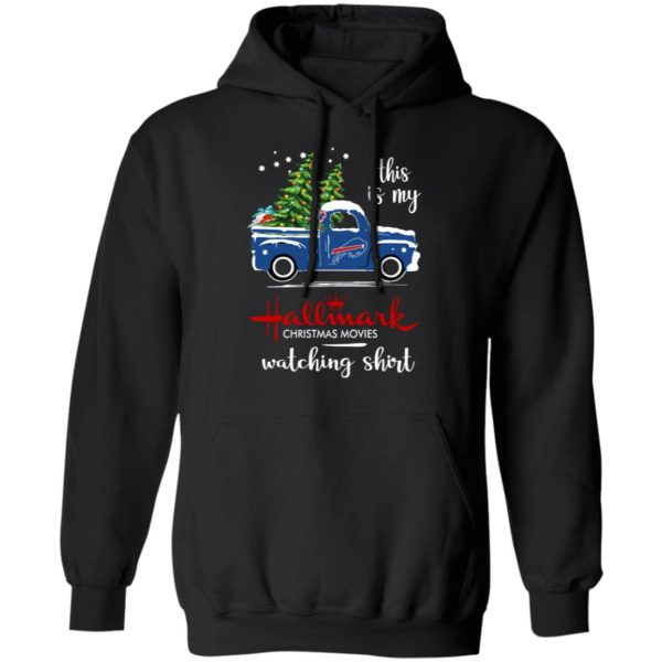 Buffalo Bills This Is My Hallmark Christmas Movies Watching Shirt