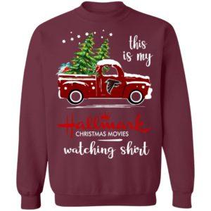 Atlanta Falcons This Is My Hallmark Christmas Movies WatchAtlanta Falcons This Is My Hallmark Christmas Movies Watching Shirting Shirt