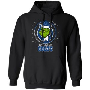 I Hate People But I Love My Indianapolis Colts Grinch Shirt