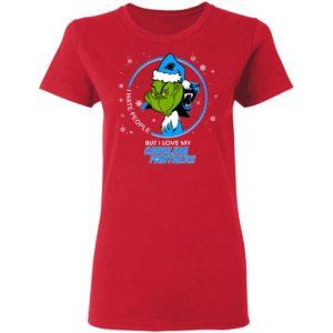 I Hate People But I Love My Carolina Panthers Grinch Shirt