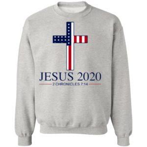 Jesus 2020 2 Chronicles 7 14 America Flag Shirt