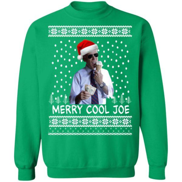 President 2020 Joe Biden Eating an Ice Cream Merry Cool Joe Ugly Christmas Sweater