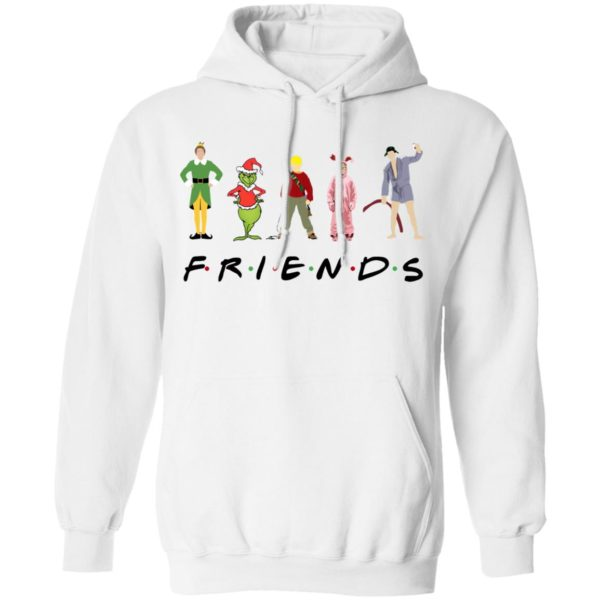 Christmas Characters Elf Grinch Kevin Friends shirt