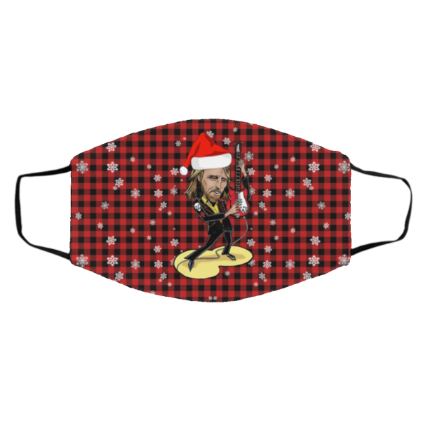 Tom Petty Merry Christmas Face Mask