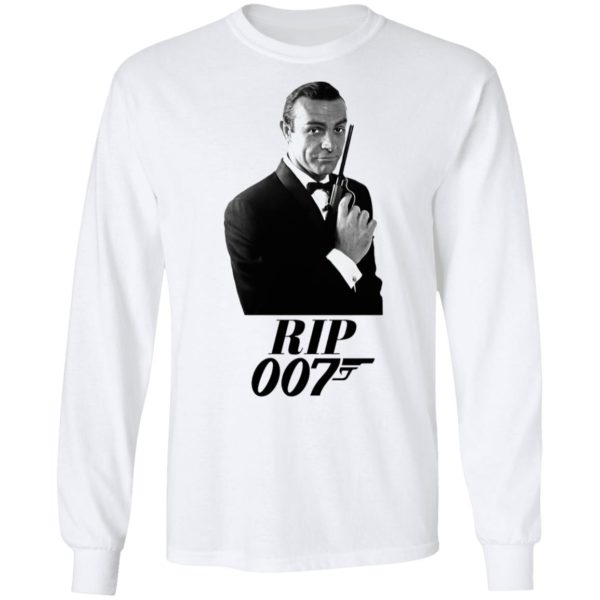 RIP Sean Connery 007 Thank You For The Memories shirt T-Shirt
