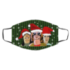 Nirvana Band Merry Christmas Face Mask