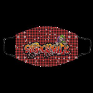 Aerosmith Merry Christmas Face Mask