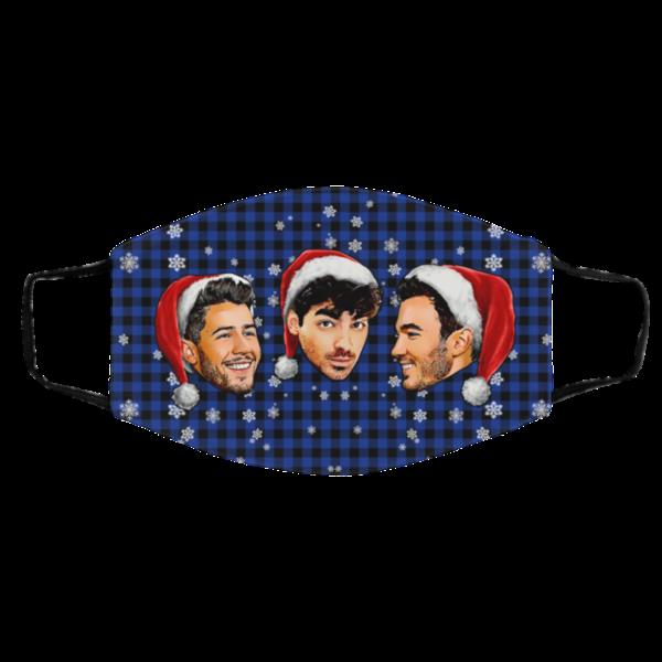 Jonas Brothers Merry Christmas Face Mask