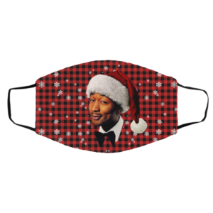John Legend Merry Christmas Face Mask