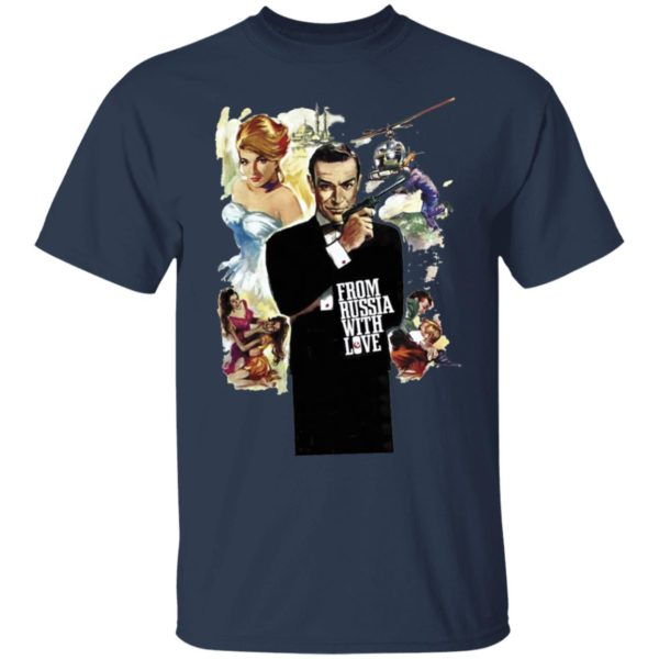 Sean Connery 007 From Russia With Love T-Shirt