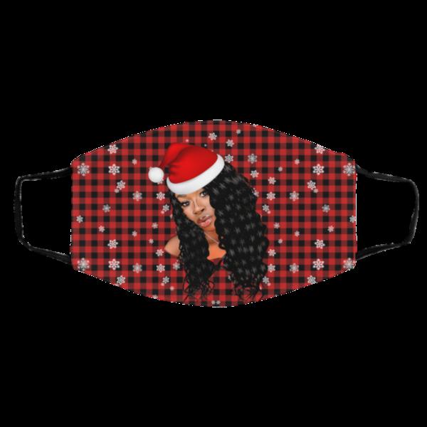 Diarra Sylla Merry Christmas Face Mask