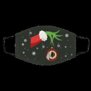 The Grinch Christmas Ornament Washington Redskins Face Mask