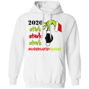 Grinch 2020 Stink Stank Stunk Christmas Kindergarten Teacher T-Shirt