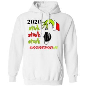 Grinch 2020 Stink Stank Stunk Christmas 2nd Grade Teacher T-Shirt