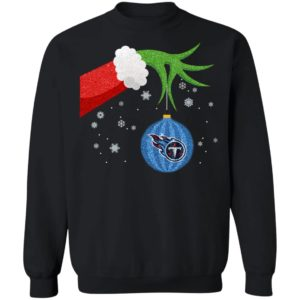 The Grinch Christmas Ornament Tennessee Titans Shirt