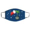 The Grinch Christmas Ornament Green Bay Packers Face Mask