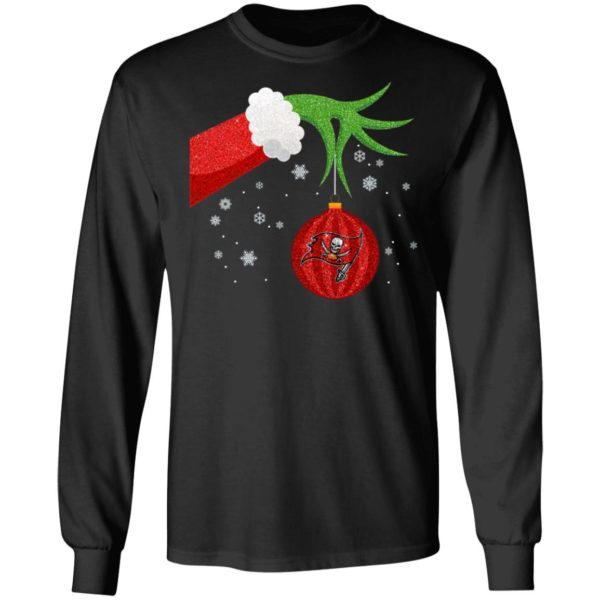 The Grinch Christmas Ornament Tampa Bay Buccaneers Shirt
