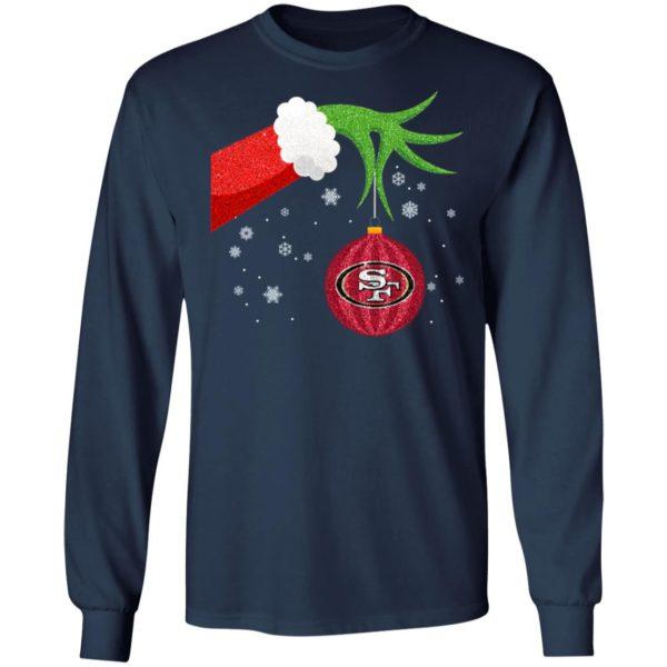 The Grinch Christmas Ornament San Francisco 49ers Shirt