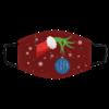 The Grinch Christmas Ornament Detroit Lions Face Mask