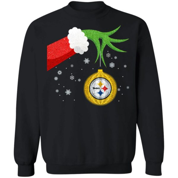 The Grinch Christmas Ornament Pittsburgh Steelers Shirt