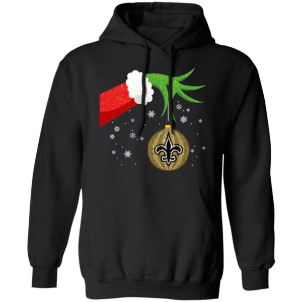 The Grinch Christmas Ornament New Orleans Saints Shirt