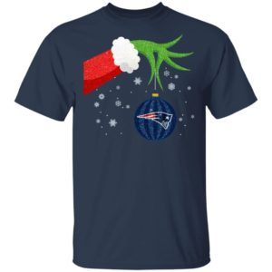 The Grinch Christmas Ornament New England Patriots Shirt