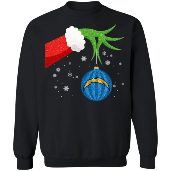 The Grinch Christmas Ornament Los Angeles Chargers Shirt