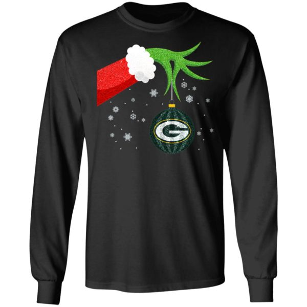 The Grinch Christmas Ornament Green Bay Packers Shirt